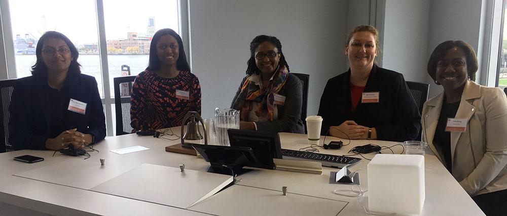 Dr. Tanu Sharma, Ariel Bowers, Dr. Dawn Ward, Tiffany Ernest, Leola Henry